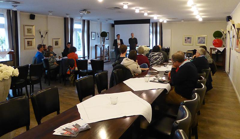 Die Info Veranstaltung Zum Thema Carsharing In Appelhülsen Stieß Auf Reges  Interesse. Foto: Gemeinde Nottuln